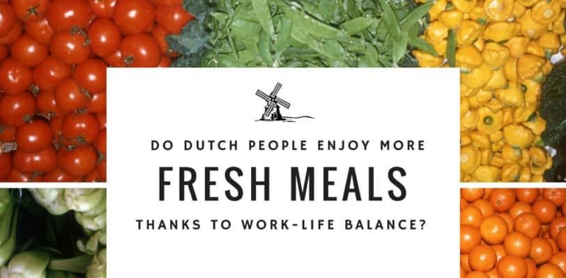 Dutch people work-life balance